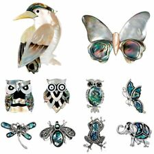 Animal Owl Elephant Butterfly Dragonfly Crystal Rhinestone Brooch Pin Jewelry