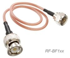F-type Male to BNC Male 50-Ohm RG316 Coax Low Loss Jumper RF Cable