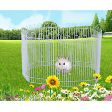 Wire Metal Hamster Small Animal Exercise Playpen Fence Panel Enclosure Cage