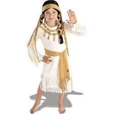 Deluxe Indian Princess Child Halloween Costume SIZE SMALL 4-6