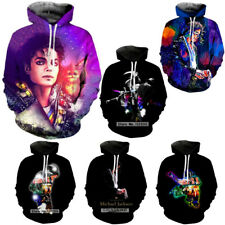 New Fashion Women/Men Michael Jackson Hoodies Sweatshirt 3D Casual Pullover Tops