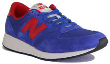 New Balance MRL420SM Men Suede Leather Blue Red Trainers 7-12.5
