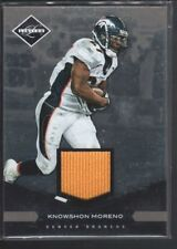 KNOWSHON MORENO 2011 LIMITED THREADS #30 GAME JERSEY BRONCOS 84/99 SP