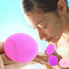 Facial Cleansing Silicone Brush Skin Blackhead Pore Cleaning Massager Face Tool