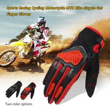 Sports Racing Cycling Motorcycle MTB Bike Bicycle Gel  Finger Gloves X7Z6