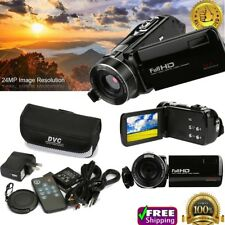 Full HD 1080P 24MP Digital Video Camcorder Camera DV HDMI 3'' TFT LCD 18X ZOOM