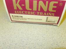 K-LINE TRAINS - 648106- WESTERN PACIFIC - CLASSIC BOXCAR-   - 0/027- NEW