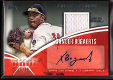 XANDER BOGAERTS 1/10 $600 RED SOX ROOKIE AUTO GAME JERSEY PATCH RC SP 2014 TOPPS