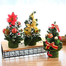 Mini 20CM Height Celebrate Xmas Party Desktop Decoration Christmas Tree Holiday