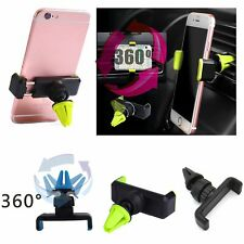 360° Universal Car Air Vent Mount Holder Stand for Cell Phone iPhone Samsung