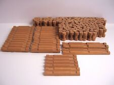 Lincoln Logs Huge Lot 192 Real Wood Pieces