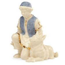 Lenox First Blessings Shepherd Boy with Sheep Dog Porcelain Nativity Figurine
