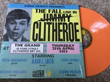 THE FALL LIVE IN CLITHEROE LIMITED EDITION ORANGE VINYL GATEFOLD