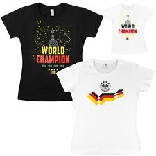 Football Ladies 2018 World Cup Fan-Shirt T-Shirt Germany for Women to Russia