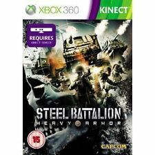 Steel Battalion Heavy Armour (Xbox 360) WITH MANUAL FREE POSTAGE