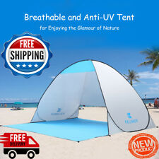 Camping Tent  Beach Tent 2Persons Tent  Pop Up Open AntiUV Outdoor FREESHIPPING