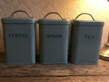 Garden trading Tea, Coffee And Sugar Canisters