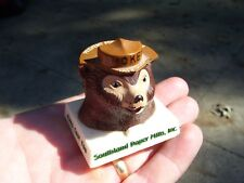 Vintage 60s Dash Smokey bear snuffit prevent fire gm ford chevy rat rod pontiac  (Fits: 1935 Buick)