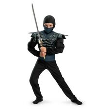 Shadow Ninjas Night Fury Night Camo Ninja Muscle Boys Child Costume | Disguise