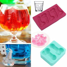 3D Penis Shape Silicone Chocolate Cake Pan Making Molds Bachelorette Party Decor