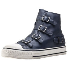 Ash Virgin Womens Anthracite Leather Trainers