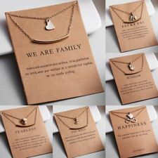 Women Lucky Elephant Clavicle Chains Necklace Pendant Gold Jewelry Gift Party