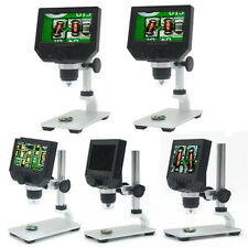 Digital 4.3inch HD LCD Display Microscope Continuous Magnifier+adjustable Stand
