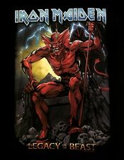 IRON MAIDEN cd lgo Legacy of the Beast LOTB DEVIL Official SHIRT new