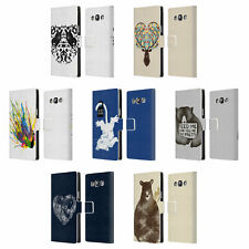 OFFICIAL TOBE FONSECA ANIMALS LEATHER BOOK CASE FOR SAMSUNG PHONES 3