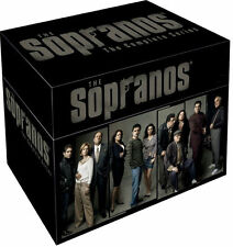 The Sopranos - Series 1-6 - Complete (DVD, 2009, 28-Disc Set, Box Set) Good