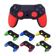 PS4 Controller Protective Silicone Rubber Case Cover Skin + Free Grips