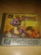 Spyro 2 Gateway to Glimmer PS1 PS2 Playstation game RARE CLASSIC w/manual