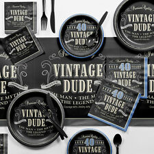 Creative Converting Vintage Dude Party Supplies Kit