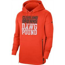 2019 Cleveland Browns Nike Sideline Local Pickup Therma-FIT Performance Hoodie