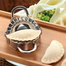 Round Stainless Steel Ravioli Mould Dumpling Maker Mold Pastry Dough Press Cutte