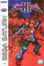 123541 Shining Force III 3 Sega Saturn Decor LAMINATED POSTER UK