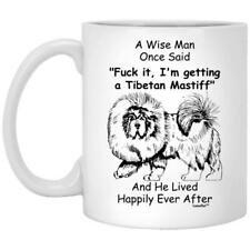 Tibetan Mastiff Dad Gift For Man White Mug Coffee Mug 11oz 15oz Mothers Day Gift