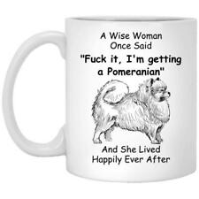 Pomeranian Dog Mom Gift For Women Mug Coffee Mug 11oz 15oz Mothers Day Gift