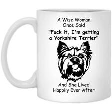 Yorkshire Terrier Mug Dog Mom Gift Coffee Mug 11oz 15oz Mothers Day Gift