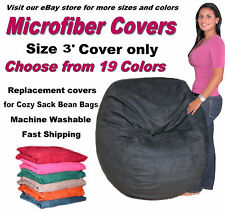 Bean Bag Chair Cover Factory Direct Cozy Sack Store Fits 3' Beanbags