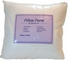 Synthetic Down Pillow Form Insert Multiple Sizes Craft