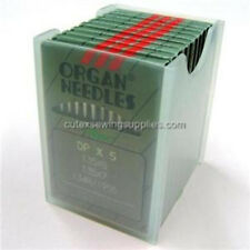100 ORGAN 135X5 135X7 DPX5 SY1955 BALL POINT SEWING MACHINE NEEDLES