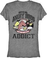 ANGRY BIRDS T-Shirt Tee NEW Official Addict (JUNIOR)