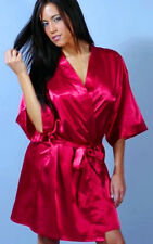 NEW LINGERIE SHORT ROBE  ONE SIZE FITS MOST S M L XL