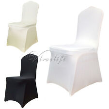 New Spandex Lycra Chair Cover For Wedding Party Banquet