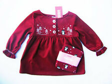 GYMBOREE Penguin Chalet  Penguin Swing Top & Leggings Outfit 12 - 18 18 - 24 NEW