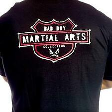 BAD BOY MMA BLACK LOGO T-SHIRTS BJJ FIGHT VALE TUDO SIZES S-XL