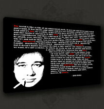 BILL HICKS ICONIC QUOTE MUSIC CANVAS PRINT POP ART POSTER MANY SIZES TO CHOOSE