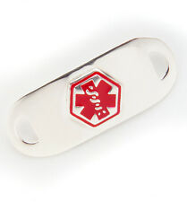 Medical Alert ID Tags > SEE WALLET, ASTHMA, EPILEPSY, LATEX- Clearance!