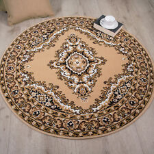 Light Brown Beige Traditional Flower Long Hall Runner Rug Extra Long Runner Rugs